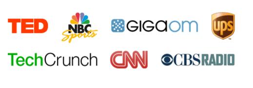 Logos von großen Unternehmen, die WordPress einsetzen