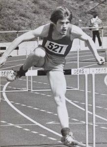 Axel Schaumann Hürdenlauf (hurdles)