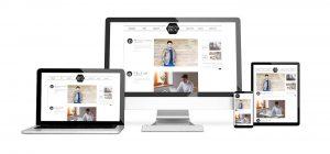 Websites auf verschiedenen Bildschirmen