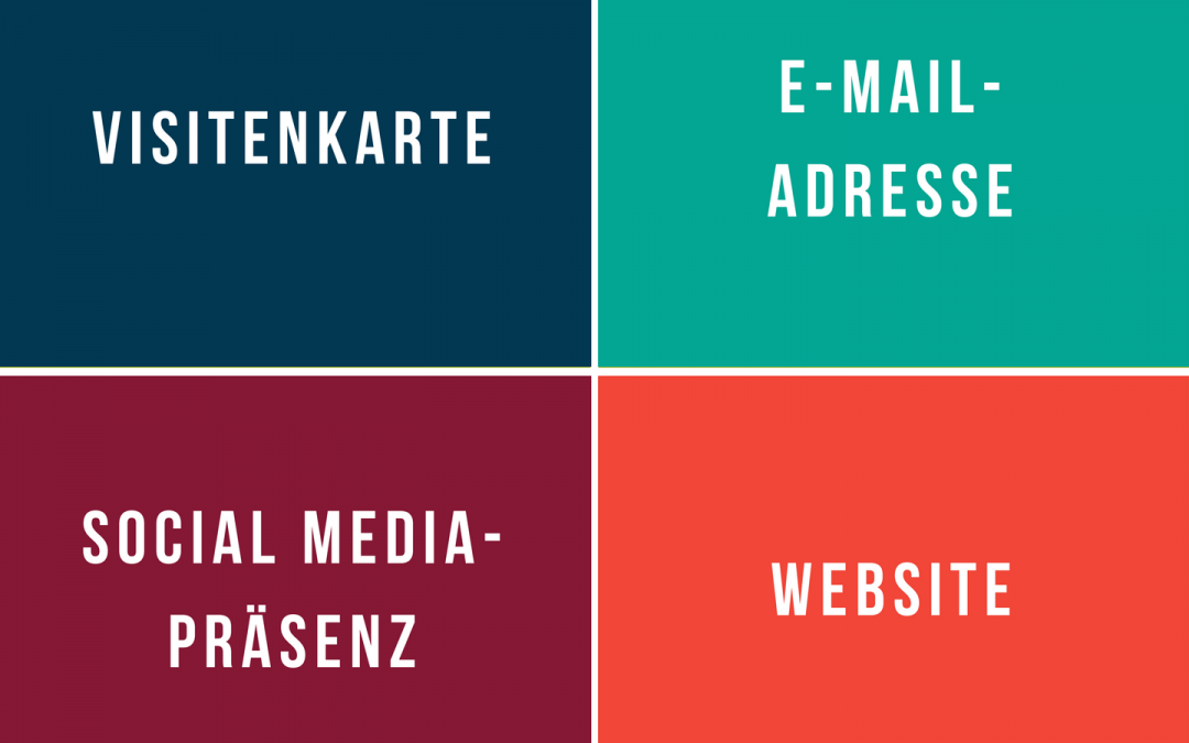 Die vier Elemente deiner Marketing-Grundausstattung