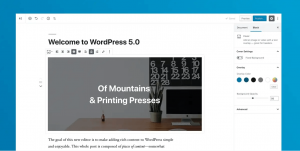Update auf WordPress 5.0